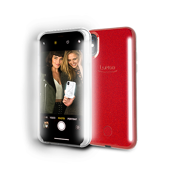 DUO for iPhone XS Max - Red Glitter