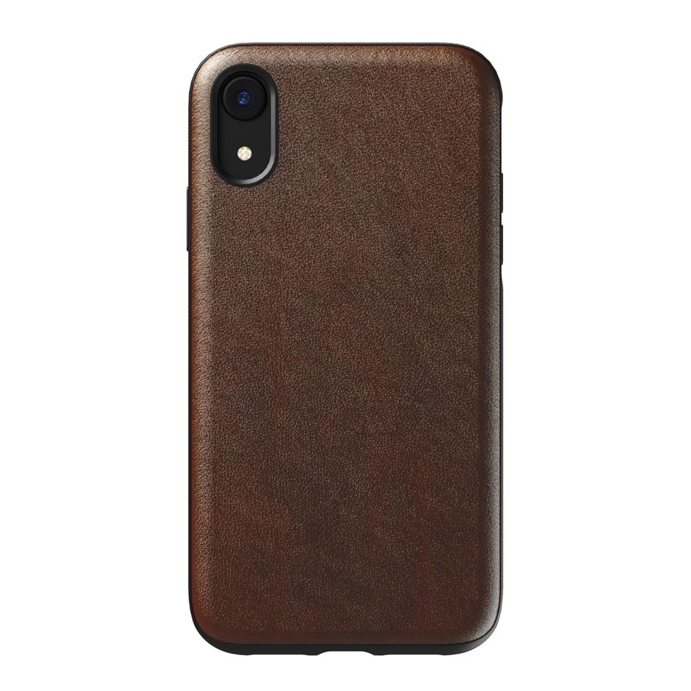 Leather Case - Rugged - iPhone XR - Rustic Brown