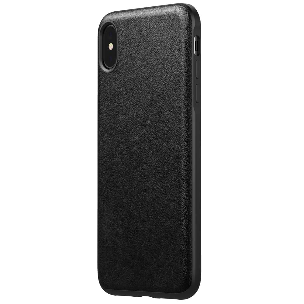 Leather Case - Rugged - iPhone XS Max - Black