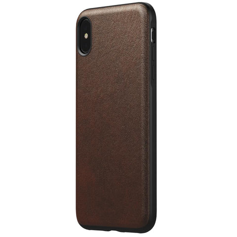 Leather Case - Rugged - iPhone XS Max - Rustic Brown