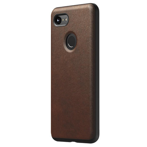 Leather Case - Rugged - Google Pixel 3 XL - Rustic Brown