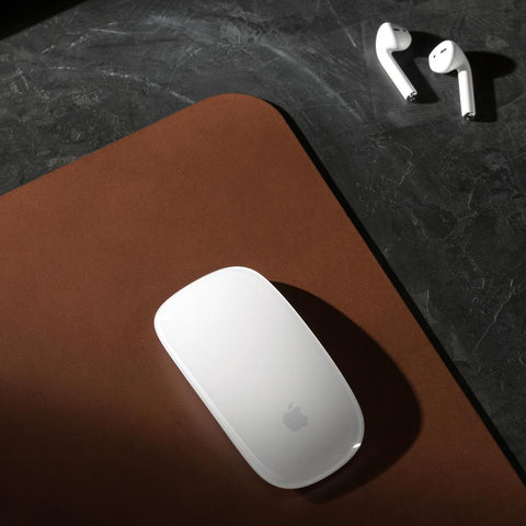 Horween Leather Mouse Pad - Brown