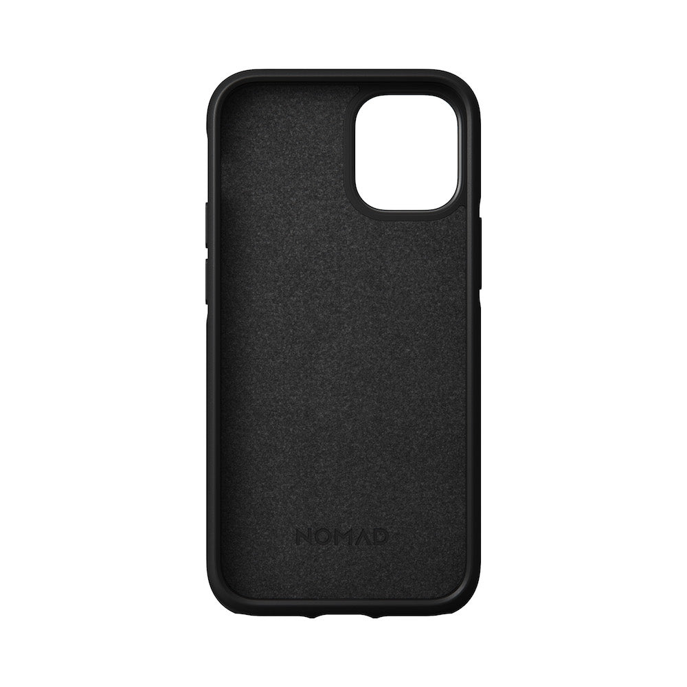 Leather Case - Rugged - iPhone 12 Mini - Black