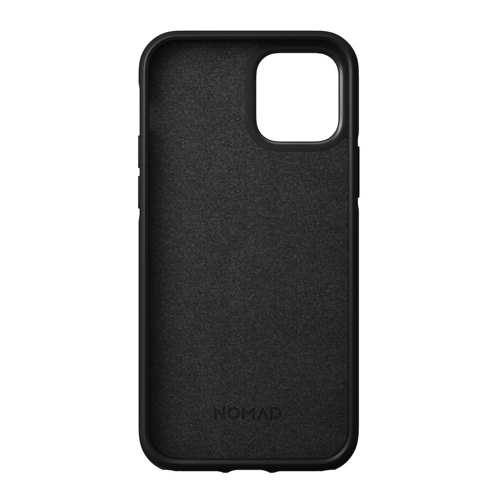 Leather Case - Rugged - iPhone 12/12 Pro - Black