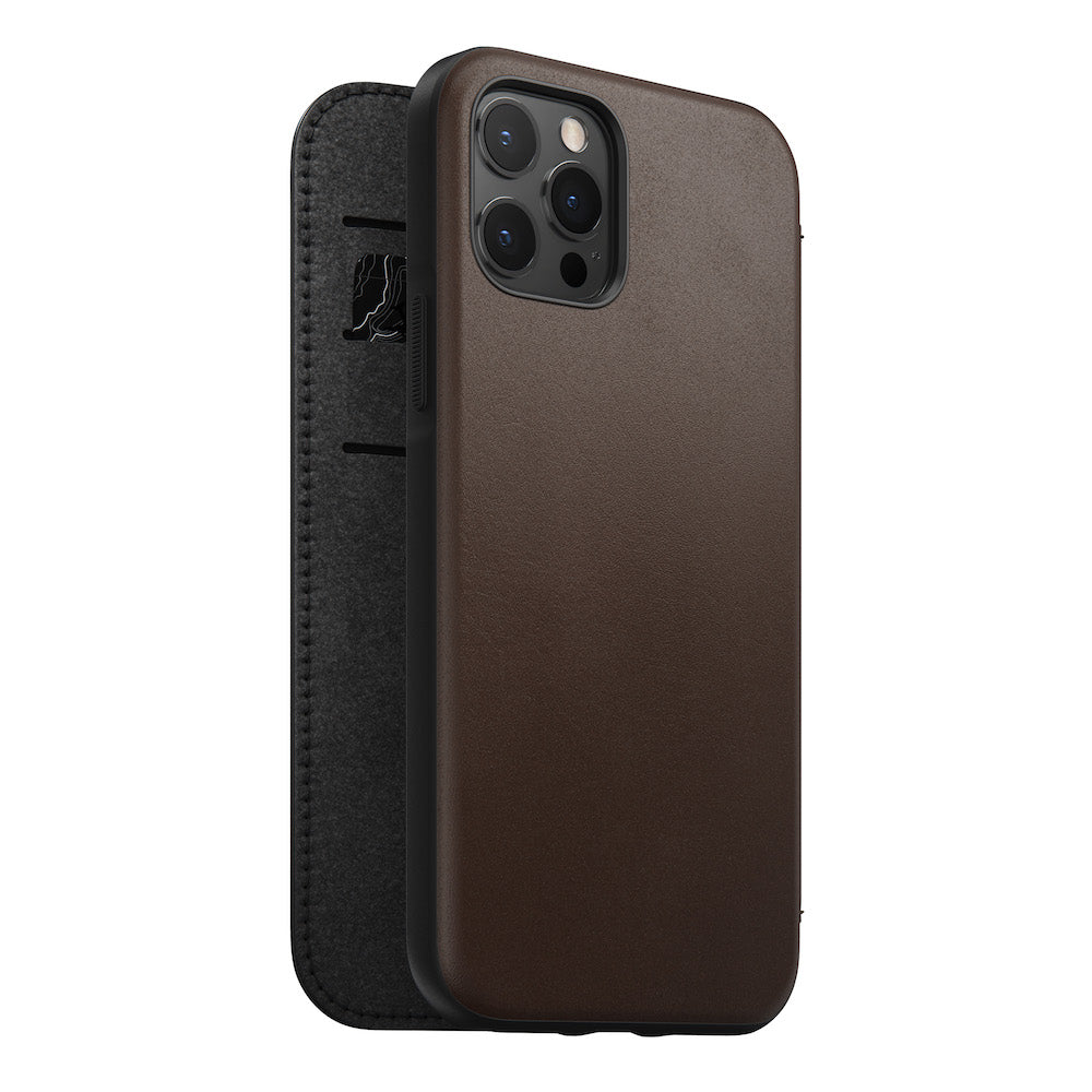 Folio - Rugged - iPhone 12/12 Pro - Brown
