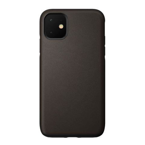 Leather Case Active - iPhone 11 - Mocha Brown