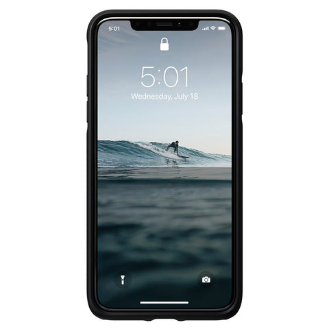 Leather Case Active - iPhone 11 Pro Max - Black