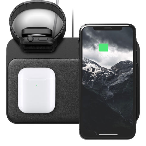 Base Station Charger with Apple Watch Stand