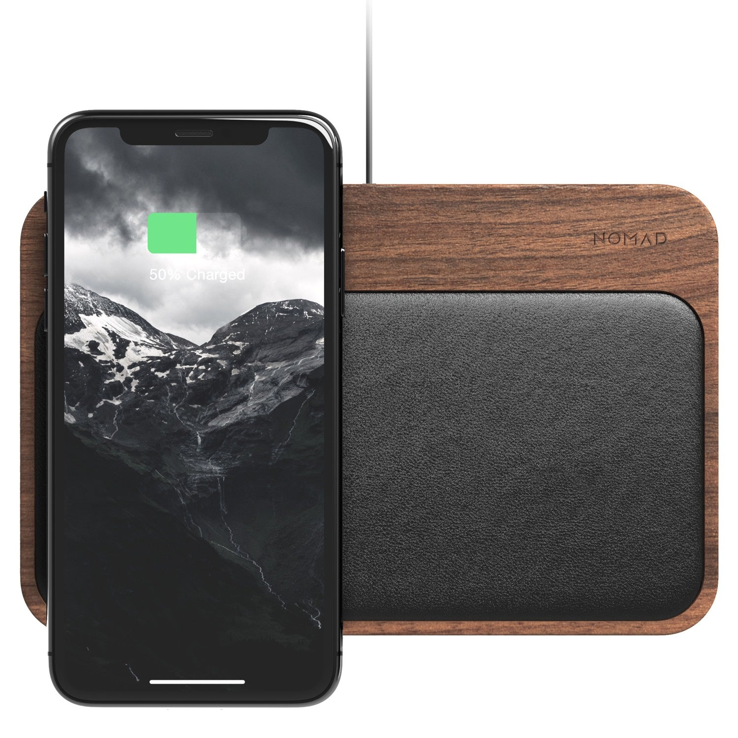 Base Station Charger - Walnut