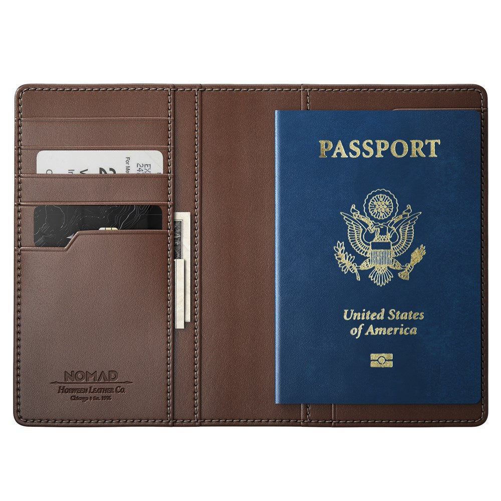Passport Wallet Traditional with Tile Tracking