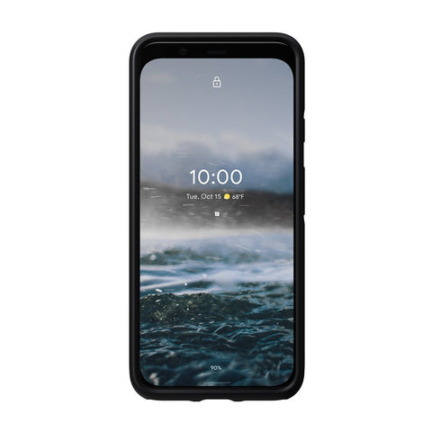 Leather Case - Rugged - Google Pixel 4 - Black