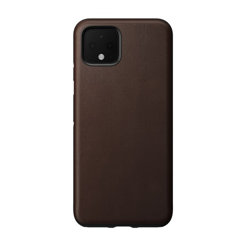 Leather Case - Rugged - Google Pixel 4 - Brown