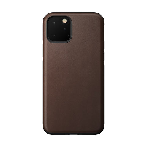 Leather Case - Rugged - iPhone 11 Pro - Rustic Brown