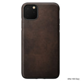 Leather Case - Rugged - iPhone 11 Pro Max - Rustic Brown