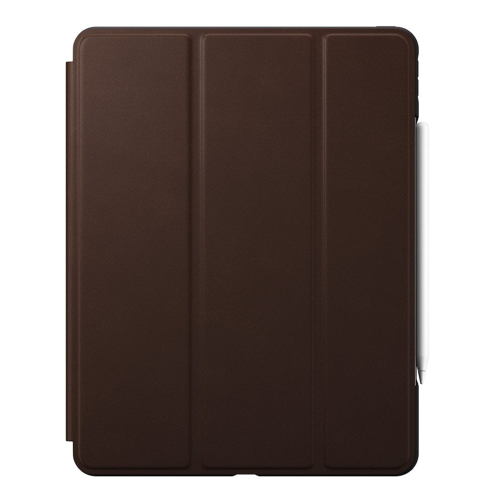 Rugged Folio - iPad Pro 12.9 (4th Gen) - Leather - Brown