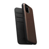Leather Folio - Rugged - iPhone 11 Pro - Brown