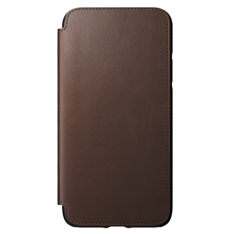 Leather Folio - Rugged - iPhone 11 Pro Max - Brown