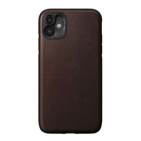 Rugged Case with Moment Lens mount - iPhone 11, Brown