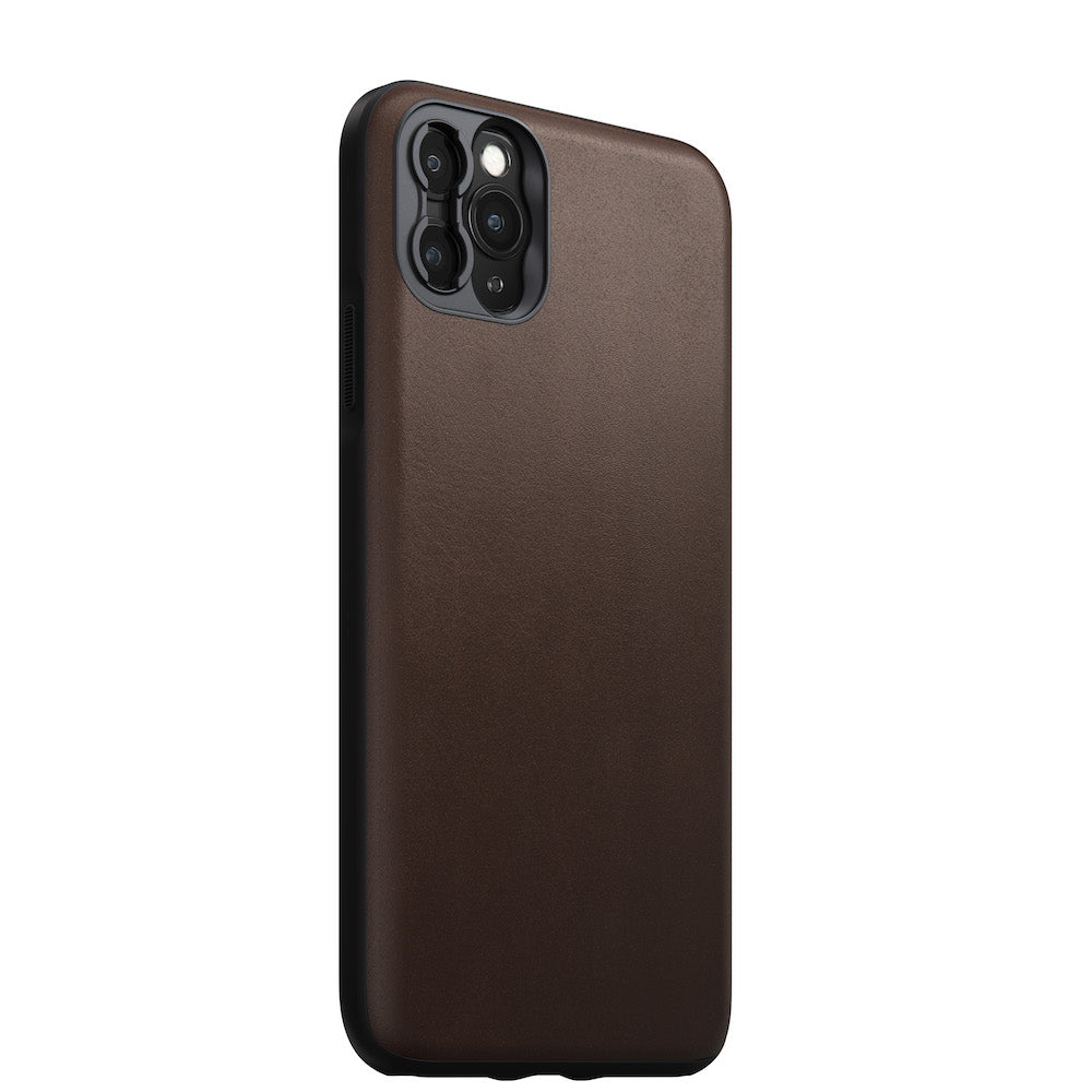 Rugged Case with Moment Lens mount - iPhone 11 Pro Max, Brown