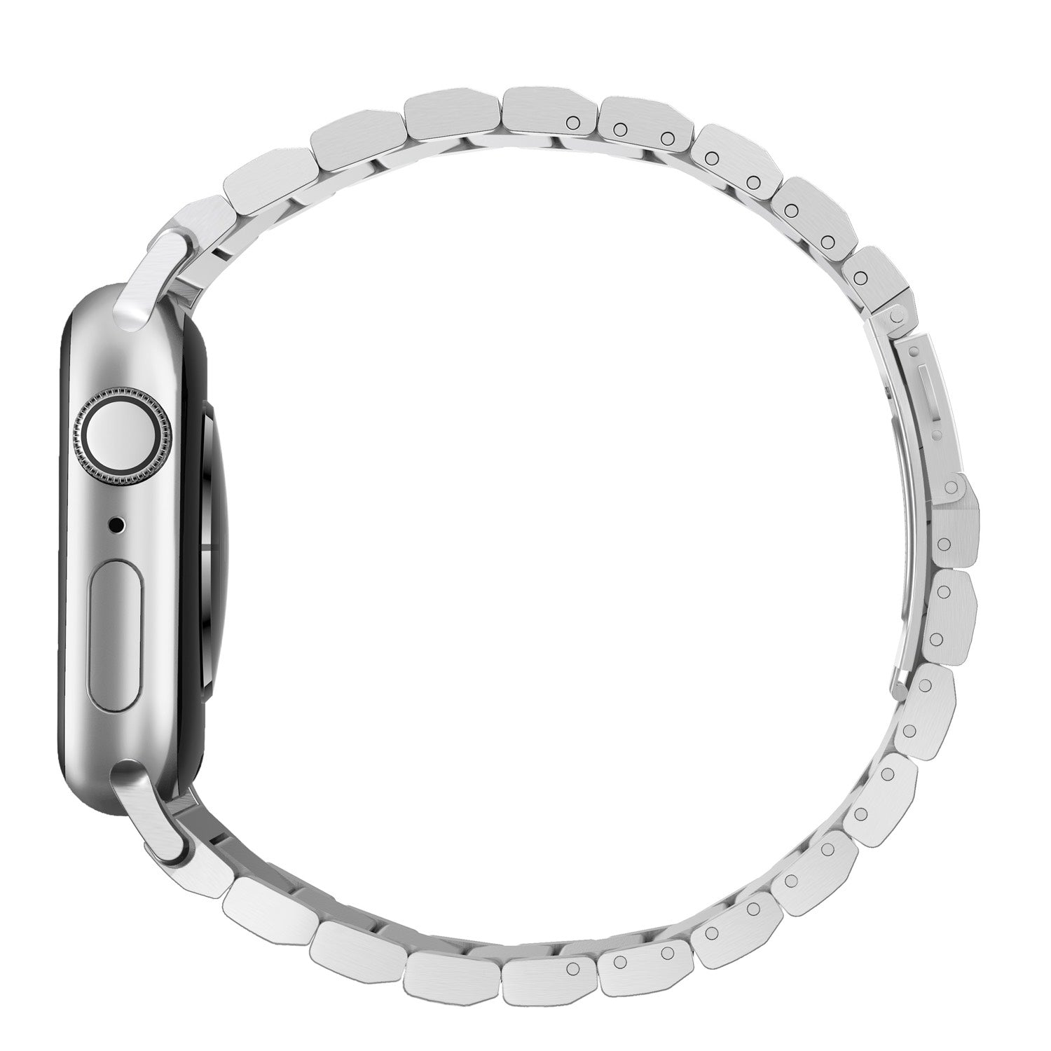 Steel Band for Apple Watch 42/44mm - Silver hardware