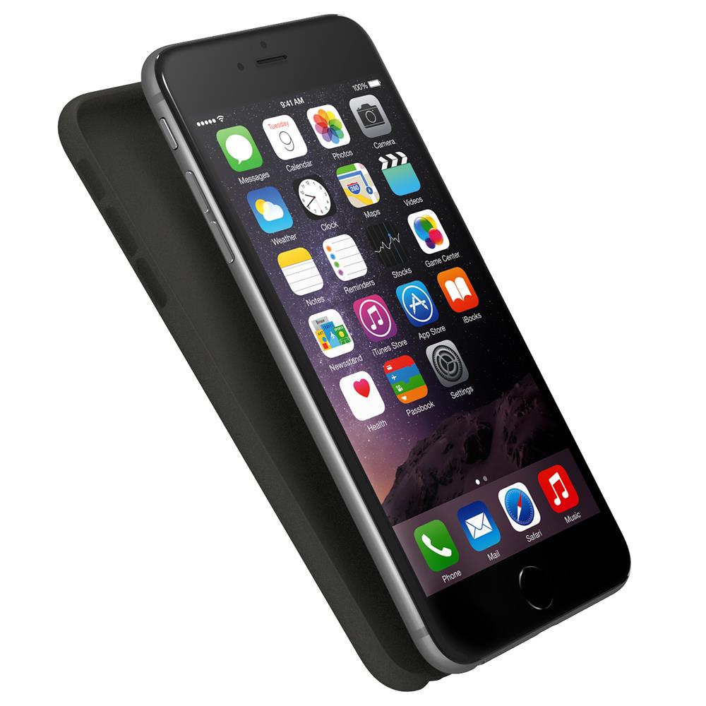Air Jacket for iPhone 6/6s Plus - Rubberised Black