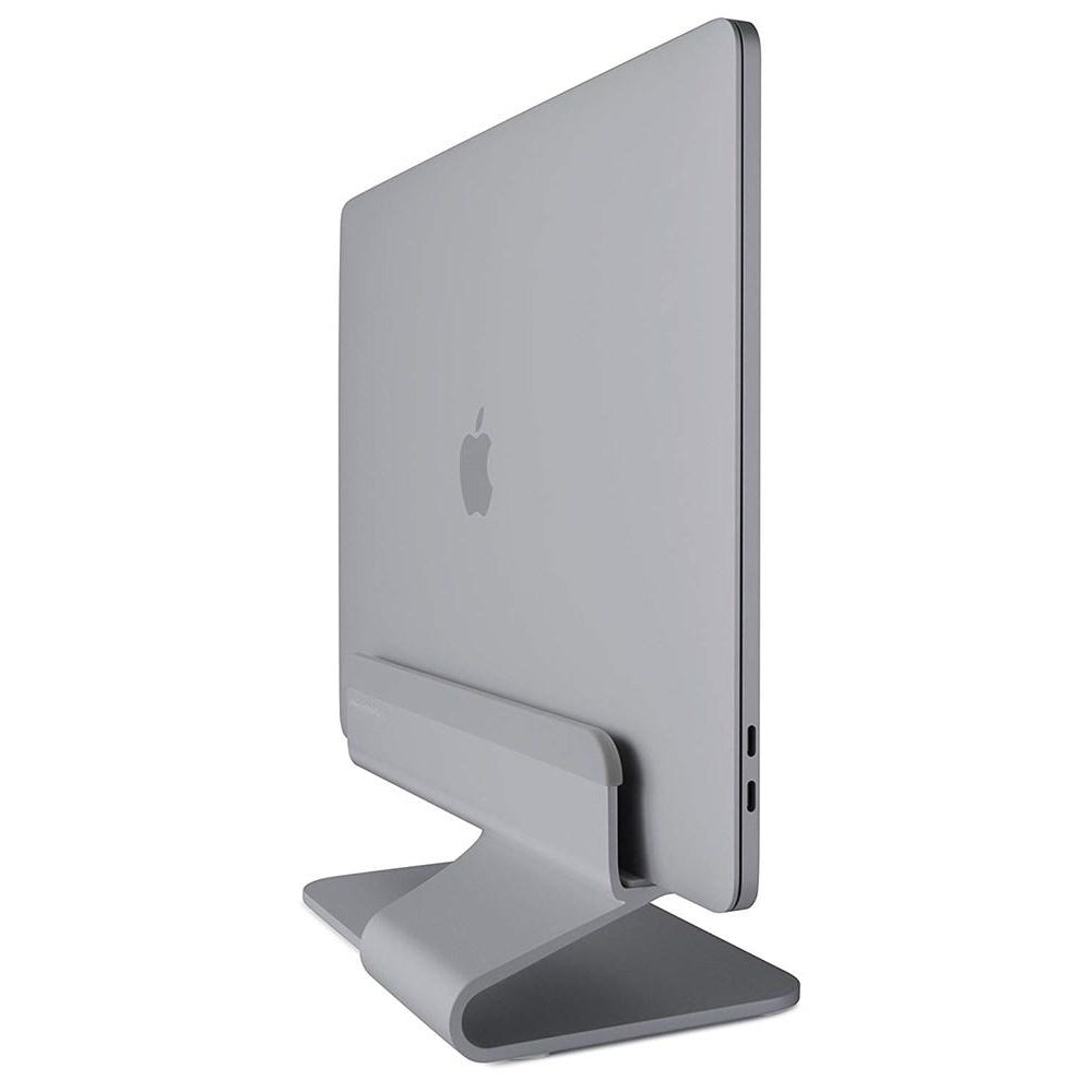 mTower Vertical Laptop Stand - Space Grey