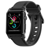 Silicone Strap for Apple Watch 42/44mm - Black hardware (NM1A41B000)