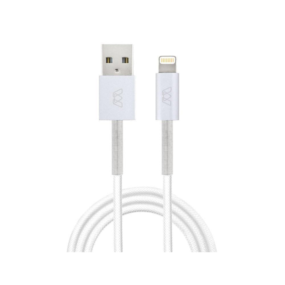 Spring Lightning Cable, 6ft/182cm - White