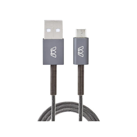 Micro USB Spring Cable, 3 ft/91cm