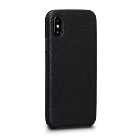 Bence LeatherSkin Leather Case iPhone X/XS - Black