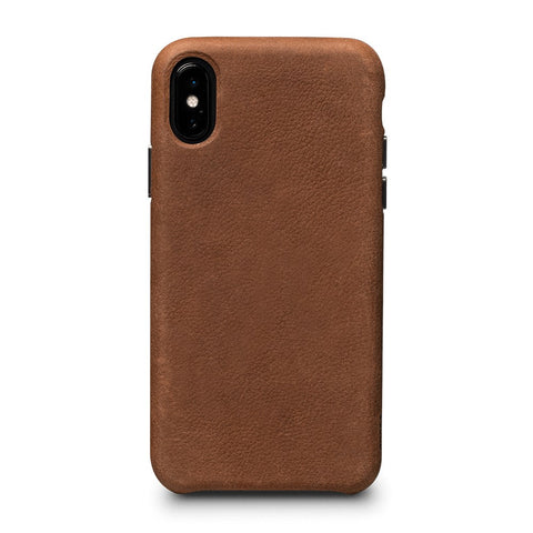 Bence LeatherSkin Leather Case iPhone X/XS - Brown