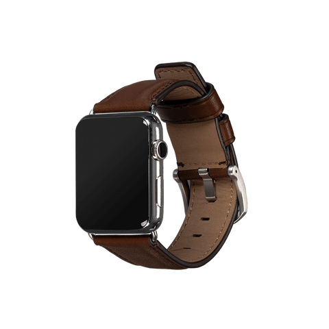 Deen Leather Apple Watch Band 42/44mm - Brown