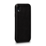 Deen LeatherSkin Leather Case iPhone XR - Black