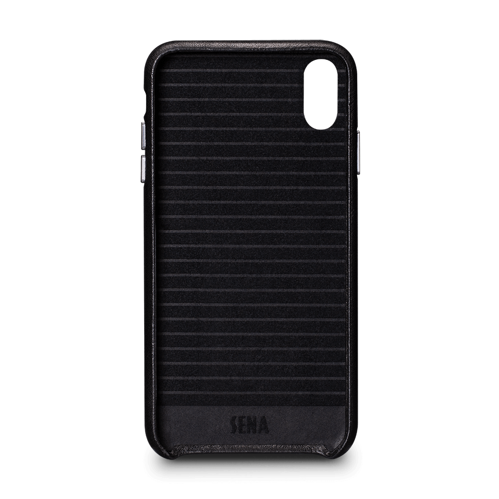 Deen LeatherSkin Leather Case iPhone XS Max - Black