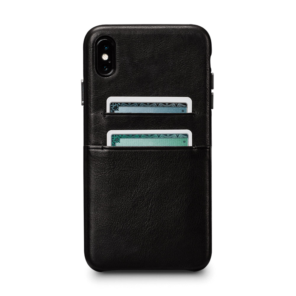 Deen Snap On Wallet for iPhone XS Max - Black
