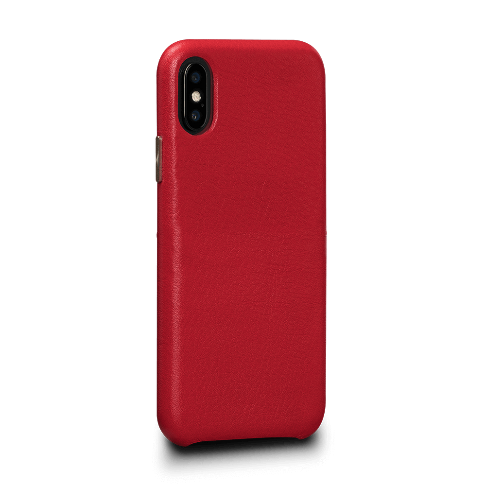 Kyla LeatherSkin Leather Case iPhone X/XS - Red