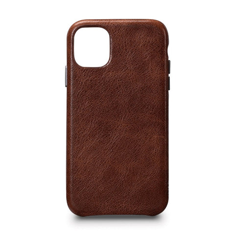 LeatherSkin Leather Case iPhone 11 Pro - Cognac