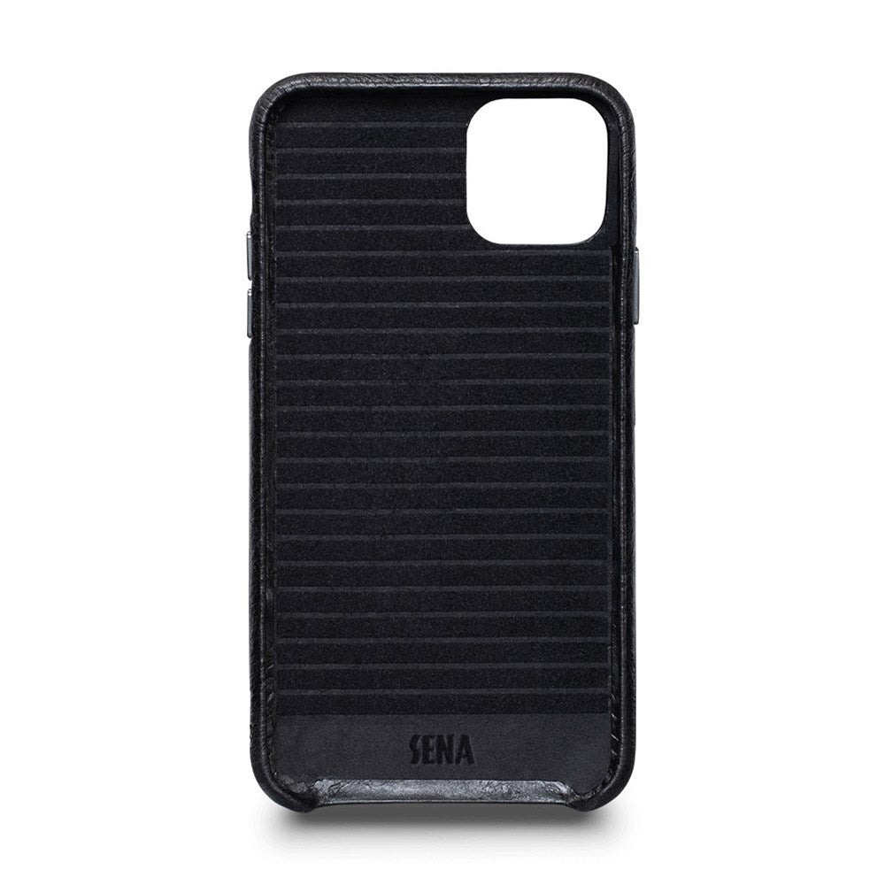 LeatherSkin Leather Case iPhone 11 Pro Max - Black