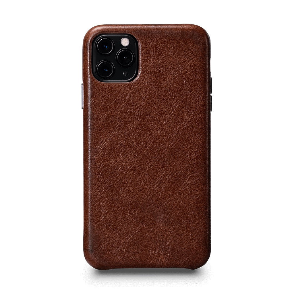 LeatherSkin Leather Case iPhone 11 Pro Max - Cognac