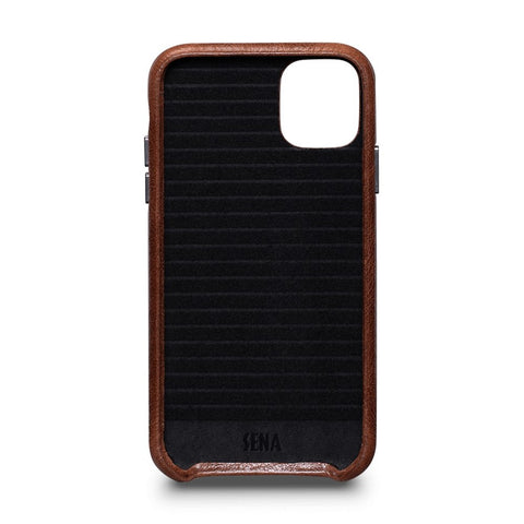 LeatherSkin Leather Case iPhone 11 - Cognac