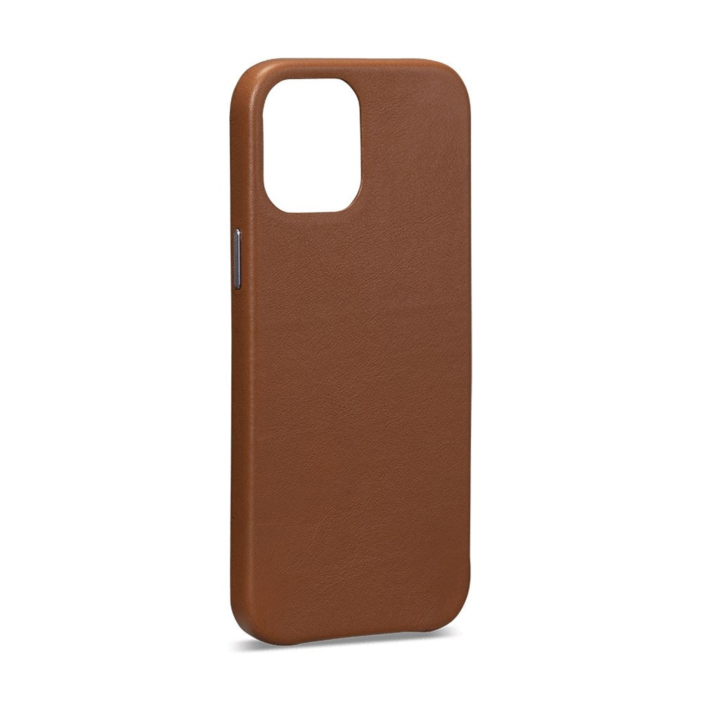 LeatherSkin Leather Case iPhone 12 Pro Max - Brown