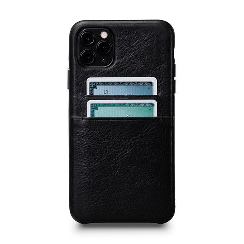 Snap On Wallet Case for iPhone 11 Pro Max - Black