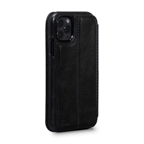 Wallet Book for iPhone 11 Pro - Black
