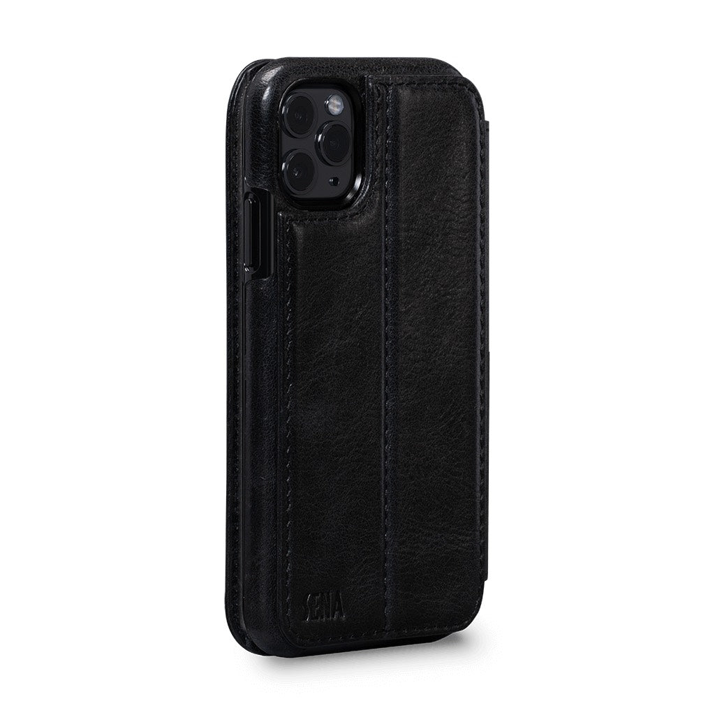 Wallet Book for iPhone 11 Pro Max - Black