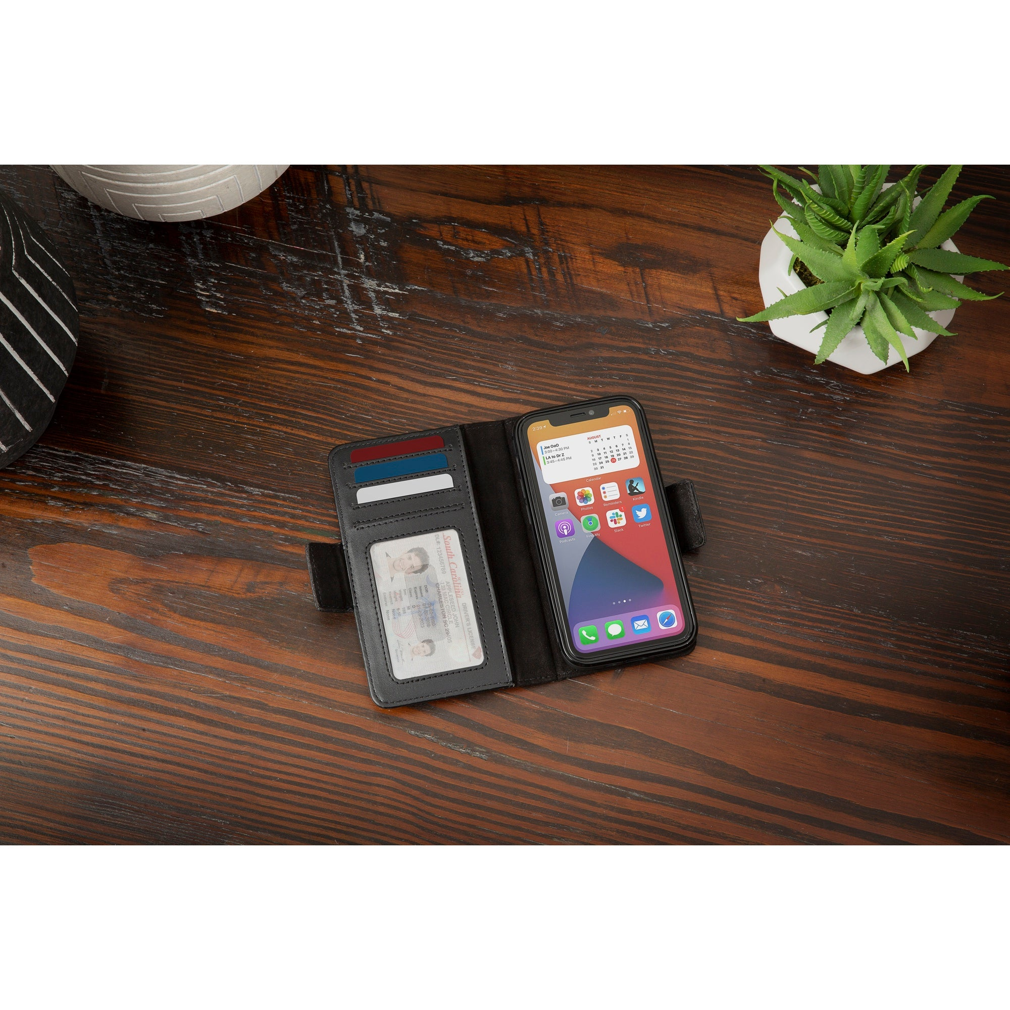 BookBook for iPhone 12 Pro Max - Black
