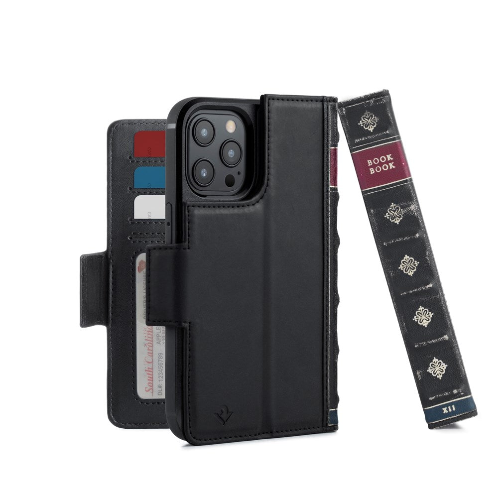 BookBook for iPhone 12/12 Pro - Black