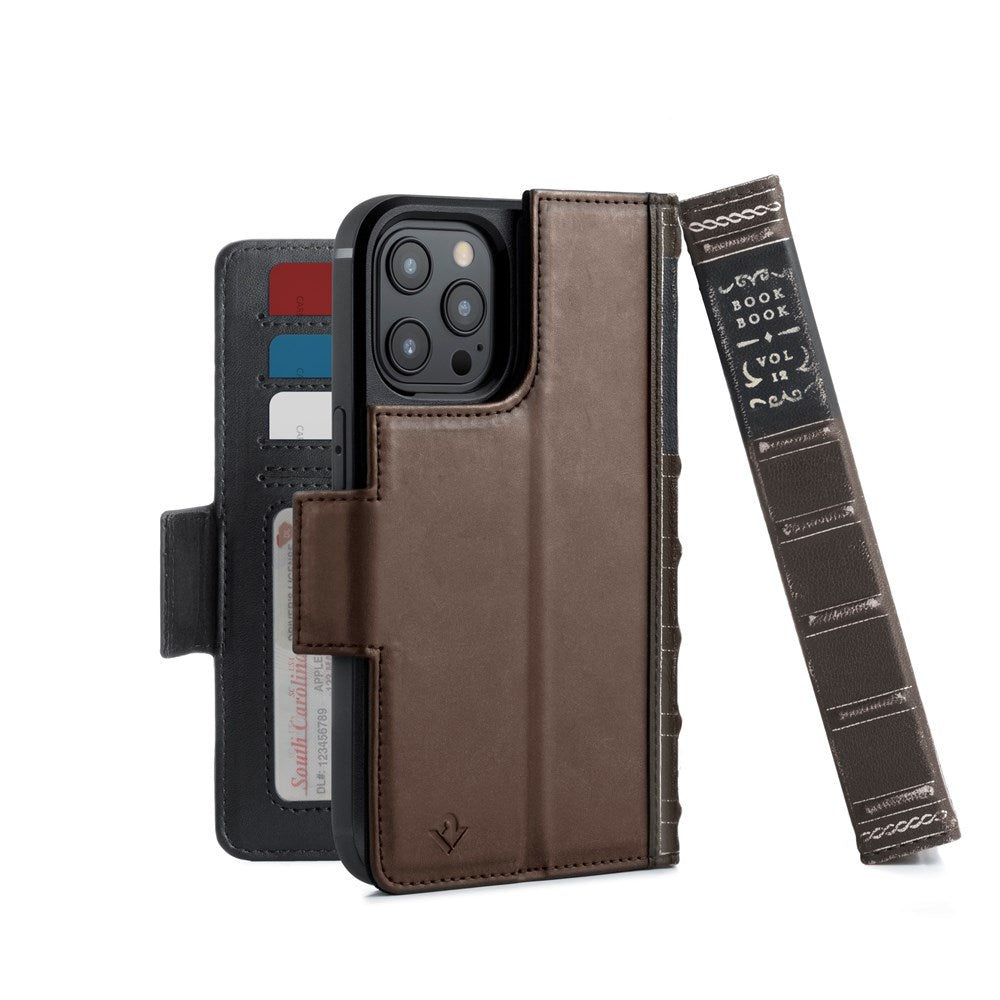 BookBook for iPhone 12 Pro Max - Brown