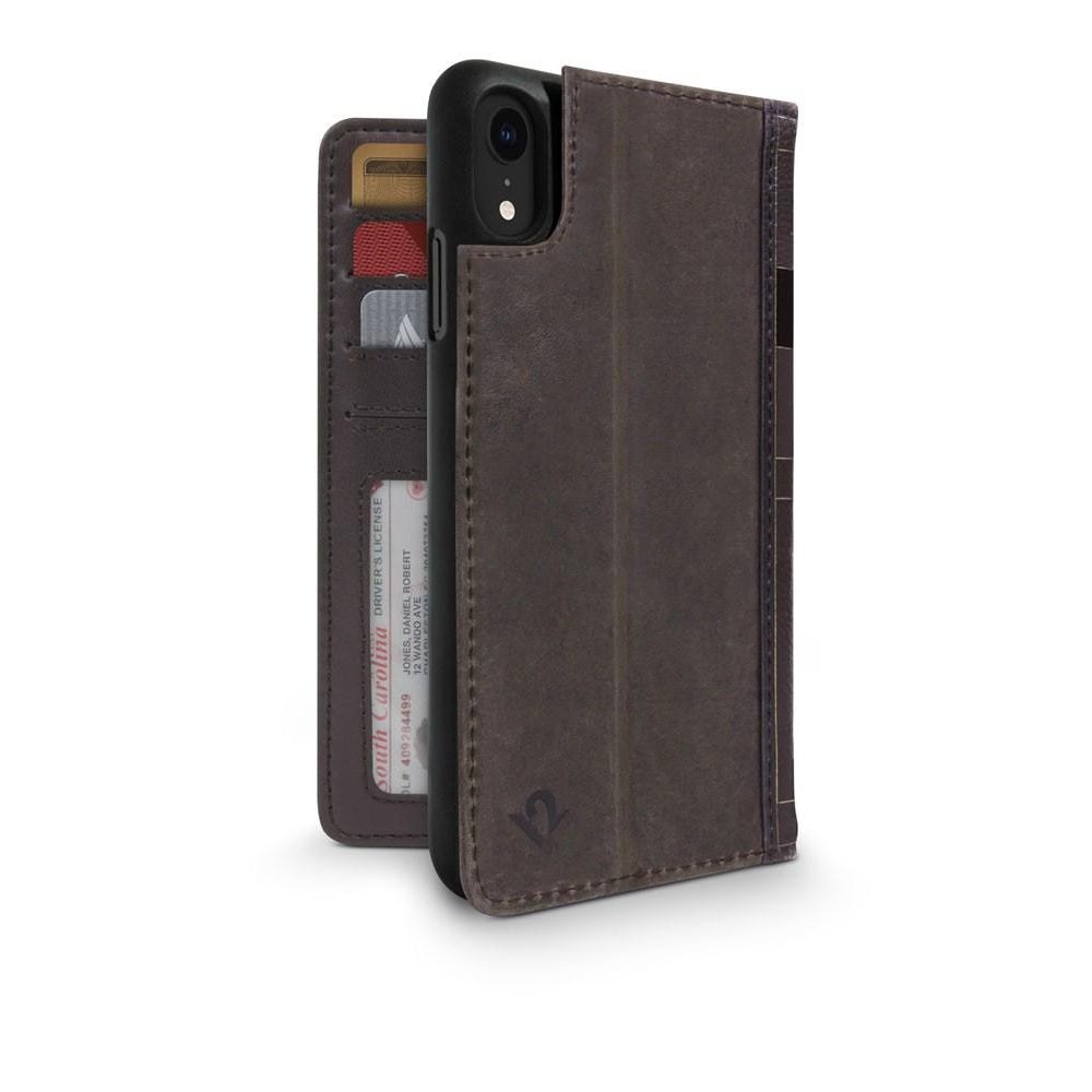 BookBook for iPhone XR - Brown
