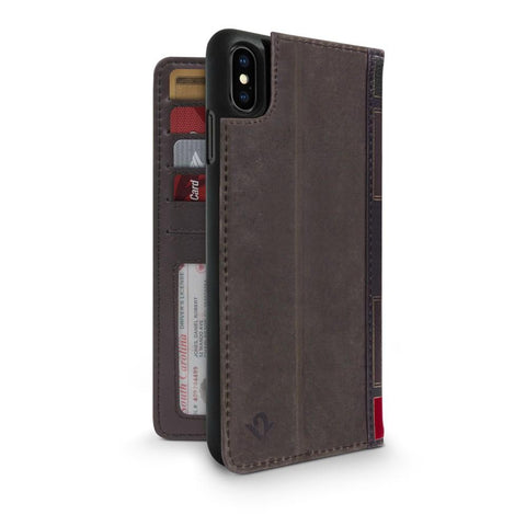 BookBook for iPhone XS Max - Brown