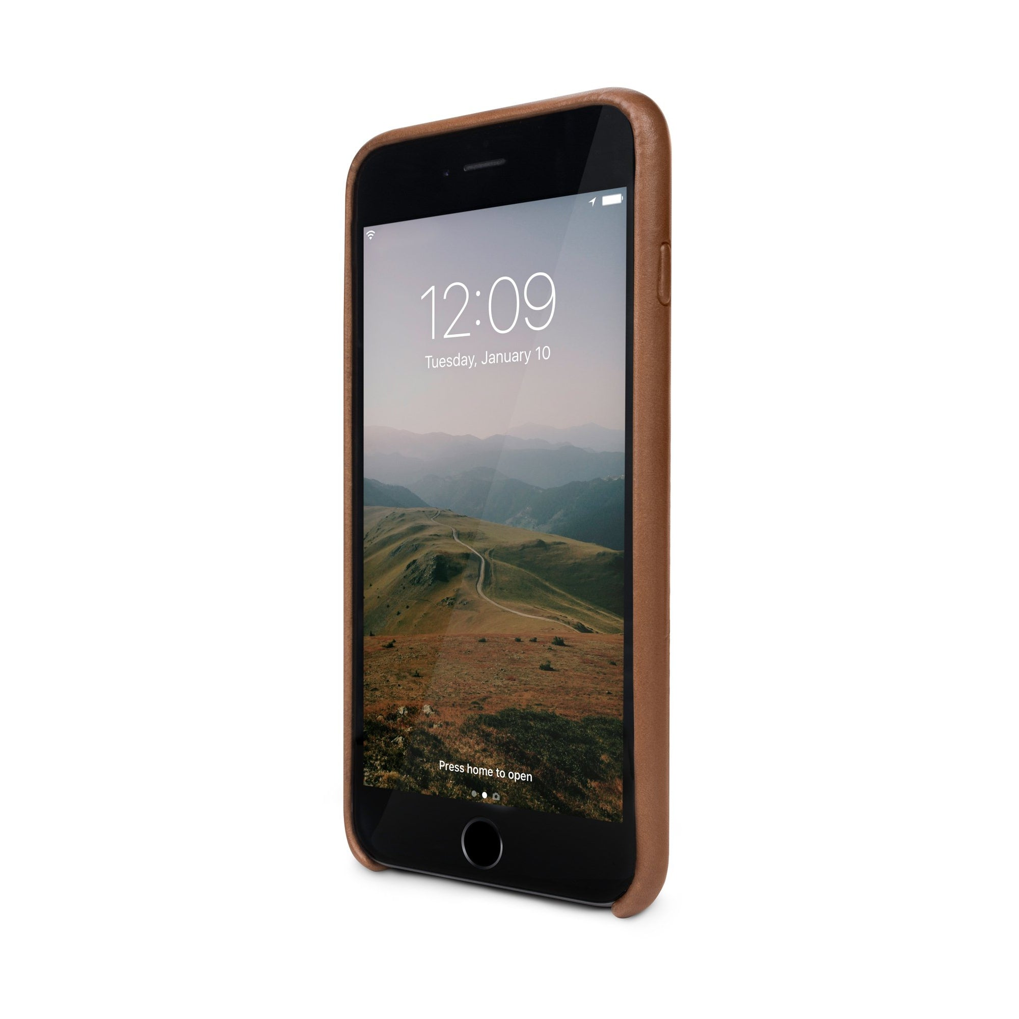 Relaxed Leather case - iPhone 7/8 Plus - Cognac